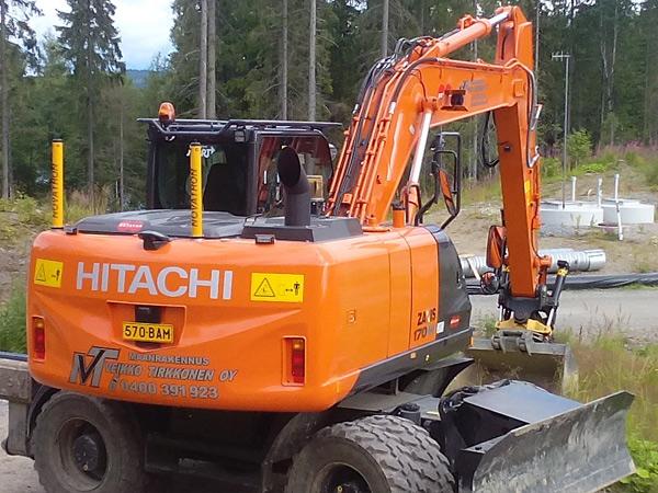 Hitachi ZX 170 W